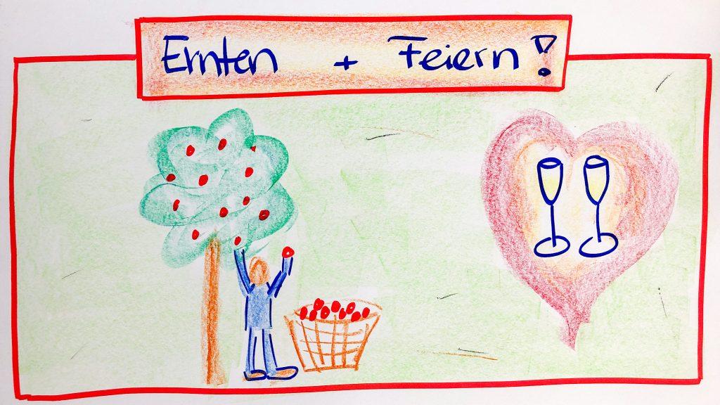 Ernten und Feiern - FISCHER Consulting