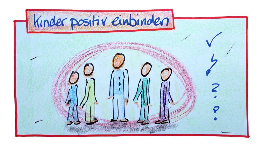 Kinder positiv einbinden